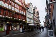 Das Dorf Appenzell profitiert am meisten vom Einkaufstourismus. Bild: Mareycke Frehner.