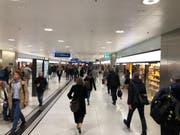 Am Bahnhof in Zürich lief um 18 Uhr alles wieder einigermassen geregelt. (Bild: zvg)