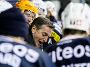Serge Pelletier will das 100-jährige Bestehen des HC La Chaux-de-Fonds mit dem Titel in der Swiss League feiern (Bild: KEYSTONE/JEAN-CHRISTOPHE BOTT)