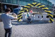 Lidl veranstaltete am Samstag einen Tag der offenen Tür am neuen Hauptsitz in Weinfelden. (Bild: Reto Martin)