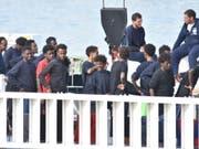 Aus für Seenotrettung im Mittelmeer: Das Mandat der Marineoperation Sophia zur Rettung von Flüchtlingen und Migranten läuft am 31. März aus. (Bild: KEYSTONE/EPA ANSA/ORIETTA SCARDINO)