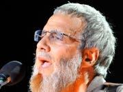 Der britische Sänger Yusuf Islam (früher Cat Stevens) singt für die Opfer des Terroranschlags im neuseeländischen Christchurch. (Bild: KEYSTONE/EPA/KARIM SELMAOUI)