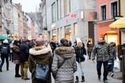 Viele Schweizer kaufen regelmässig in Konstanz ein. (Bild: Donato Caspari)