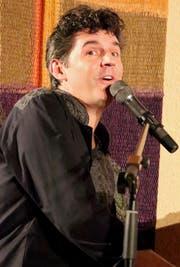 Roger Stein bei seinem Auftritt in Kradolf. (Bild: Barbara Hettich)