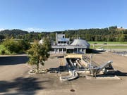 Die ARA in Niederuzwil: Geht es nach der Lenkungsgruppe, soll hier ab 2021 eine moderne gemeinsame ARA gebaut werden. (Bild: Andrea Häusler)