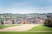 Der Anblick von Süden her auf den Ortsteil Thundorf. (Bild: Andrea Stalder)