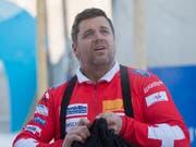 Beat Hefti darf sich endlich auch offiziell Olympiasieger nennen (Bild: KEYSTONE/URS FLUEELER)