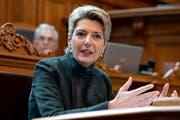 Früher St.Galler Regierungs- und Ständerätin, jetzt im Bundesrat: Karin Keller-Sutter. (Bild: Keystone)