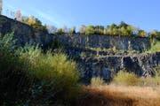 Die Zukunft des Steinbruchs Campiun (Bild) und die neue Schutzverordnung sind zwei voneinander unabhängige Themen, betont der Seveler Gemeindepräsident Roland Ledergerber. (Bild: Heini Schwendener, 2016)