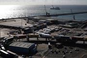 Lastwagen im Hafen von Dover. Nach dem Brexit könnte es zu deutlich längeren Wartezeiten kommen. (Bild: Dan Kitwood/Getty Images)