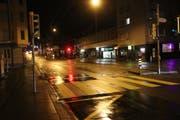 Die Zürcher Strasse in der Lachen soll umgestaltet werden. (Bild: Reto Voneschen - 30. Dezember 2017)