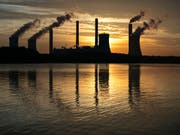 Kohlekraftwerk in Juliette im US-Bundesstaat Georgia. (Bild: KEYSTONE/FR171034 AP/BRANDEN CAMP)