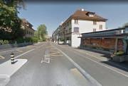 Die betroffene Stelle an der Zürcherstrasse. (Bild: Printscreen Google Maps)