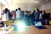 """Ausgebucht: Der Workshop """"Digitale Nachbarschaft"""". (Bild: PD)"""