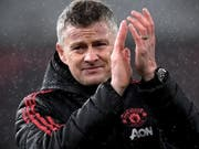 Manchester Uniteds Trainer Ole Gunnar Solskjaer erhielt einen Vertrag bis Sommer 2022 (Bild: KEYSTONE/EPA/NEIL HALL)