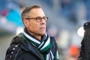 Matthias Hüppi, Präsident des FC St.Gallen. (Bild: Freshfocus)