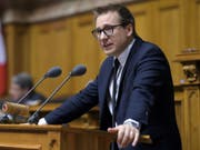 Nationalrat Philippe Nantermod will für die Walliser FDP einen Ständeratssitz erobern. (Bild: Keystone/ANTHONY ANEX)