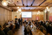 Die 85. Korporationsversammlung im Thurpark war auch die letzte Versammlung der Dorfkorporation Wattwil. (Bild: Sascha Erni)
