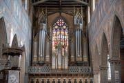 Grosse Pläne für die St.Galler Laurenzenkirche: Die Orgel soll umfassend revidiert und erweitert werden. (Bild: Adriana Ortiz Cardozo)