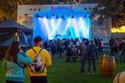 Das «Weihern Openair Festival» 2018 (Bild) wurde nach dem Rückzug von Gründer Dario Aemisegger erstmals von Melanie und Diego Schweizer Dachs organisiert. (Bild: Urs Bucher - 16. September 2018)