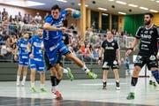 Wie lange spielt Claudio Vögli noch für den HC Kriens-Luzerns? (Bild: Philipp Schmidli)
