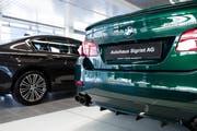 Ab Ende Mai werden beim Autohaus Sigrist in Kriens keine BMW mehr zu besichtigen sein. (Bild: Philipp Schmidli, 29. März 2019)