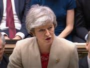 Brexit ohne Abkommen rückt näher: Nach der erneuten Ablehnung des Brexit-Abkommens im britischen Unterhaus hat Premierministerin Theresa May am Freitag in London die Auswirkungen als schwerwiegend bezeichnet. (Bild: KEYSTONE/AP House of Commons)