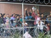 Die Todesursache von einem Migrantenkind in US-Grenzwächtergewahrsam ist geklärt worden. (Bild: KEYSTONE/AP/CEDAR ATTANASIO)