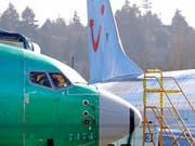 Das Flugverbot für die Boeing 737 MAX 8 sorgt beim Reisekonzern TUI für einen Gewinneinbruch. (Bild: KEYSTONE/AP/TED S. WARREN)