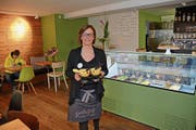 Bei Sibylle Pfändler gibt's auch Fondue. (Bild: Karin Erni)