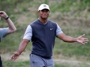 Tiger Woods hatte das Glück nicht mehr in der eigenen Hand (Bild: KEYSTONE/AP/ERIC GAY)