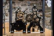 Die Moosmatt-Uhr. (Bild: Boris Bürgisser, Luzern, 26.03.2019)