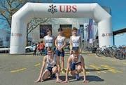 Im Schweizer Final überzeugte das Team vom STV Grabs mit einem zwölften Platz. (Bild: PD)