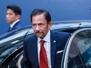 Wegen der Einführung der Todesstrafe für Homosexuelle in Brunei hat George Clooney zu einem Boykott von Luxushotels des Herrschers von Brunei, Hassanal Bolkiah, aufgerufen. (Bild: KEYSTONE/EPA/STEPHANIE LECOCQ)