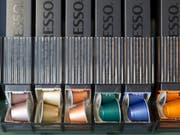 Nespresso will Alu-Kapseln gemeinsam mit Konkurrenten recyceln. (Bild: KEYSTONE/GAETAN BALLY)