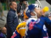 Auch mit dem neuen Trainer-Trio, zu dem auch Assistenztrainer Waltteri Immonen gehörte, schaffte der EHC Kloten in Langenthal den Turnaround nicht und schied aus den Playoffs der Swiss League aus. (Bild: KEYSTONE/MELANIE DUCHENE)