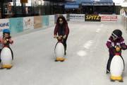 Der Eislauf-Spass für Kinder und Familien wird 2020 erneut in der «Gass» angeboten. (Bild: Thomas Schwizer)
