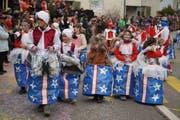 Artisten aus dem Zirkus Kastania aus dem Kastanienhof St. Margrethen. (Bild: Maya Heizmann)