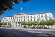 Das Thurgauer Regierungsgebäude in Frauenfeld. (Bild: Thi My Lien Nguyen)