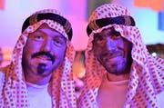 Sultan Mustafi und Abd-al-Qadir, Geldgeber aus Arabien
