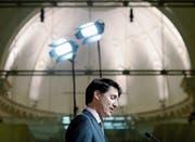 Justin Trudeau durchlebt die grösste Krise seiner Amtszeit. (Bild: Ryan Remiorz/AP; Montreal, 27. Februar 2019)