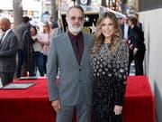 Nun hat Rita Wilson genau wie ihr Ehemann, Tom Hanks, auch einen Hollywood-Stern. (Bild: KEYSTONE/EPA/ETIENNE LAURENT)