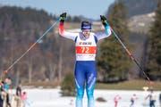 Nadine Fähndrich, Schweizer Meisterin über 30 km. (Bild: Urs Flüeler/Keystone (30. März 2019))