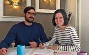 Wollen eine eigene Schule führen: Lukas und Manuela Bischof. (Bild: Farwallah)