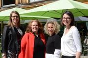 Die Organisatorinnen: Yaël Zürcher, Sonja Wiesmann Schätzle, Yvonne Ziegler, Brigitta Mettler.