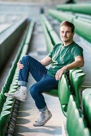 Kriens ist sein fussballerisches Daheim: Nico Siegrist. (Bild: Eveline Beerkircher, Kriens, 25. Oktober 2018)