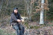 Emil Giger trainiert dreimal wöchentlich für die Weltmeisterschaft im Zaunbau. (Bild: Jessy Nzuki)