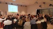 Die Versammlung des Verbandes Thurgauer Schulgemeinden in Steckborn. (Bild: PD)