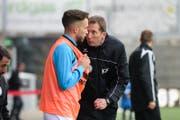 Konrad Fünfstück stand am Samstag das letzte Mal als Trainer des FC Wil an der Seitenlinie. (Bild: Gianluca Lombardi)