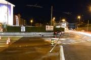 Beim Unfall auf de Rothenburgstrasse entstand Sachschaden von rund 10'000 Franken. (Bild: Luzerner Polizei (Emmenbrücke, 30. März 2019))